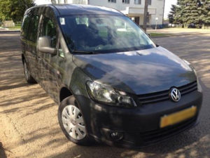 Volkswagen Caddy 6+1 мест.